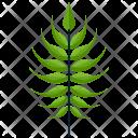 Linear Greenery Leaf Icon