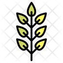 Leaves Floral Garden Icon