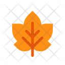 Autumn Bract Frond Icon