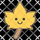 Leaf Smiley Icon