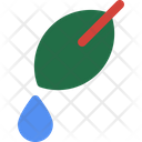 Leaf Droplet Mineral Icon