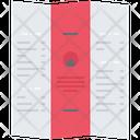 Leaflet Design Advertising Icon