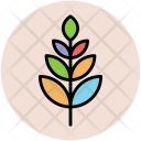 Leaflet Tree Branch Icon