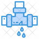 Leak Pipe Plumbering Icon