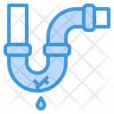 Leak Pipe Broken Icon
