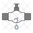 Leak Water Pipe Leak Water Icon
