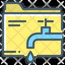 Data Information Leaking Icon