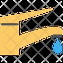 Leaking Water Tap Modern Tap Design Tap Water Icon
