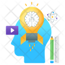 Learn To Think Creative Thinking Innovative Thinking Icon
