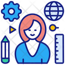 Learn To Think Education Graduate Icon