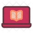 Learn With Laptop Learn Education Icon