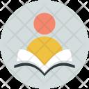 Learner Pupil Reader Icon