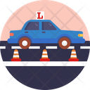 Learner Sign Car Icon