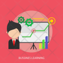 Learning Business Presentation Icon