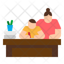 Learning Education Home Icon