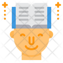 Learning Book Lesson Icon