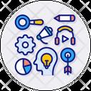 Learning Intelligence Knowledge Icon