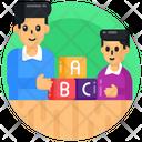 Learning Blocks Icon