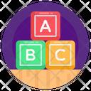 Learning Blocks Alphabets Blocks Abc Blocks Icon