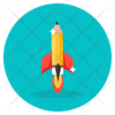 Learning Launch Education Launch Startup Icon