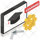 Learning Management Icon