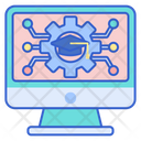 Learning Management System Ims Training System Icon