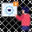 Study Management Learning Management System Education Configuration Icon