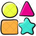 Learning Shapes Geometric Shapes Mathematical Shapes Icon