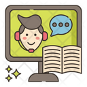 Learning Support Icon