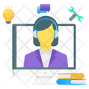 Learning Support Education Support Tech Support Icon
