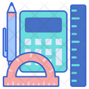 Learning Tools Stationery Calculator Icon