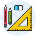 Learning Tools Stationery Pen Icon