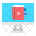 Learning Video Learning Online Icon