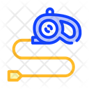 Dog Leash Color Icon