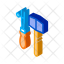 Leather Craft Tools Icon