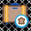 Leather Luggage Leatherworking Icon
