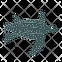 Leatherback Turtle Icon