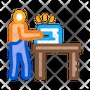 Leatherworker Sewing Machine Icon