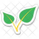 Leaves Ecology Greenery Icon