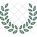 Leaves Wreath Branch Icon