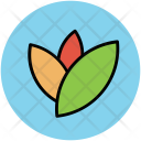 Leaves Plant Greenery Icon