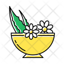 Leaves In Bowl Icon