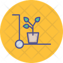 Leaves Pot Flower Pot Garden Icon