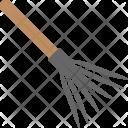 Leaves Rake Icon