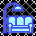 Sofa Design Furniture Icon