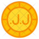 Lebanese Pound Coin Currency Icon