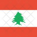 Lebanon Flag World Icon
