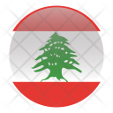 Lebanon National Country Icon