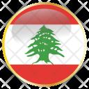 Lebanon National Flag Icon