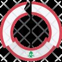 Lebanon Country Flag Icon